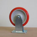 "5"" Polyurethane Rigid Caster 5125PPY-R for Little Giant® Carts"