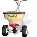 120 Lb. Capacity Heavy Duty Stainless Steel Push Spreader - TS65SS