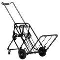 Four Wheel Folding Cargo & Luggage Cart 250 Lb. Capacity