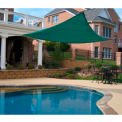 16' Triangle Green Sun Shade Sail