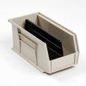 Akro-Mils Divider 40234 For AkroBin® Stacking Bin #188015, Pkg of 6