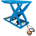 Bishamon Lift5K Power Scissor Lift Table 56x32 5000 Lb Cap Hand Control
