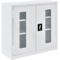 Paramount™ Clear View Wall Storage Cabinet Assembled 30x12x30 Off White