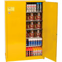 Eagle Paint/Ink Safety Cabinet with Manual Close - 30 Gallon Yellow