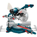 "Bosch 4310, 10"" Dual-Bevel Slide Miter Saw with Upfront Controls"