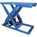Bishamon Lift5K Power Scissor Lift Table 56x32 5000 Lb Cap Foot Control