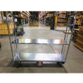 Optional Galvanized Shelf 273565 for Wesco® Narrow Aisle Truck 60x16