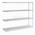 "Nexel Stainless Steel Wire Shelving Add-On 72""W X 18""D X 86""H"