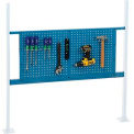 """Mounting Kit with 36""""W Pegboard for 48""""W Workbench - Blue"""