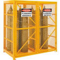 Cylinder Storage Cabinet Double Door Vertical, 18 Cylinder Capacity, Assembled