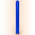 "Eagle Ribbed Bollard Post Sleeve 4"" Blue, 1732BLUE"