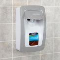 Global™ Manual Dispenser for Foam Hand Soap/Sanitizer - White/Gray