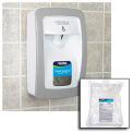 Global™ Hand Sanitizer Starter Kit W/ FREE Automatic Dispenser - White/Gray