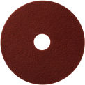"""17"""" Maroon EcoPrep """"EPP"""" Chemical Free Stripping Pad - 10 per Case"""