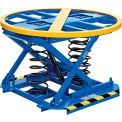 Best Value Spring-Actuated Pallet Carousel Skid Positioner