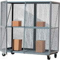 Modern Equipment MECO OST3672R-G Open Mesh Steel Security Truck 72x36 Gray