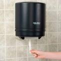 """Global™ Plastic Center Pull Paper Towel Dispenser - 9"""" Roll, Smoke Gray/Beige Finish"""