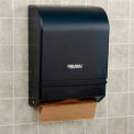 Global™ Plastic C-Fold/Multi-Fold Paper Towel Dispenser 350 C-Fold/540 Multi-Fold, Smoke Gray