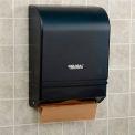 Global™ Plastic C-Fold/Multi-Fold Paper Towel Dispenser 350 C-Fold/540 Multi-Fold, Smoke Gray