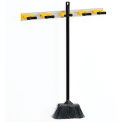 "Global™ Aluminum Mop & Broom Holder - 27-1/2""L"