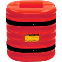 "Eagle Column Protector, 6"" Column Opening, 24"" High, Red, 1724-6-RED"