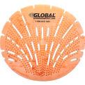 Global™ Urinal Screen - Citrus 10 Screens/Case