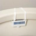 Global Industrial™ Non-Para Toilet Bowl Rim Hanger - Evergreen 12 Hangers/Case