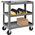 3 Shelf Steel Stock Cart 30 x 18 800 Lb. Capacity