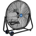 24 Inch Portable Tilt Floor Fan- Direct Drive