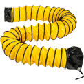 Flame Retardant Flexible Duct 32Ft for 8 Inch Diameter Fan