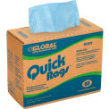 Global Industrial™ Quick Rags® Heavy Duty Wipers, 80 Sheets/Box, 5 Boxes/Case