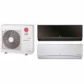 LG 18,000 BTU Dual Zone Mini Split System with 1 Art Cool Mirror and 1 Standard Evaporator