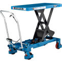 Best Value Mobile Heavy Duty Scissor Lift Table 40 x 20 Platform 2200 Lb. Capacity