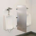 Global Industrial™ Bathroom Stainless Steel Urinal Screen 24 x 42