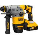 "DeWALT DCH293R2 20-Volt MAX XR Li-Ion 1-1/8"" Cordless SDS-plus Brushless L-Shape Rotary Hammer Kit"