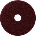 """13"""" Maroon EcoPrep """"EPP"""" Chemical Free Stripping Pad - 10 Per Case"""