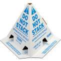 "Global Industrial™ ""Do Not Stack"" Pallet Cones - English - Pkg Qty 50"