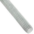 Global Industrial 3/8-16 x 6 feet, Threaded Rod - Zinc Plated Carbon Steel - Pkg Qty 6