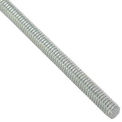 Global Industrial 1/2-13 x 6 feet, Threaded Rod - Zinc Plated Carbon Steel - Pkg Qty 6