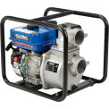 "Global Industrial™ GP80 Portable Gasoline Water Pump 3"" Intake/Outlet 7HP"