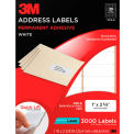 3M™ Address Labels 3100-B, 1 in x 2 5/8 in, 30 Labels/Sheet, 100 Sheets/PK