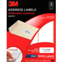 3M™ Address Labels 3200-B, 1 in x 2 5/8 in, 30 Labels/Sheet, 100 Sheets/PK