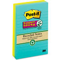 """Post-it® Super Sticky Notes 6603SSNRP, 4"""" x 6"""", Farmers Market, 30 Sheets, 3/Pack"""
