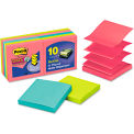 """Post-it® Pop-up Notes Super Sticky Pop-Up Notes R33010SSAU, 3"""" x 3"""", 90 Sheets, 10/Pack"""