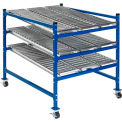 "Mobile Gravity Flow Rack 36""W x 48""D x 54""H"