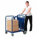 Fold-A-Way Steel Stock Cart 750 Lb. Capacity
