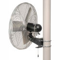 TPI 24 Pole Mount Fan Non Oscillating IHP24-PM 1/3 HP 7000 CFM 1 PH Totally Enclosed Motor