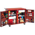 6 Drawer Mobile Job Site Box