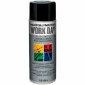 Krylon Industrial Work Day Enamel Paint Gloss Black - A04402 - Pkg Qty 12