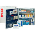 First Aid Only™ 90574 3 Shelf First Aid Kit w/Meds, ANSI Compliant, Class A+, Metal Cabinet